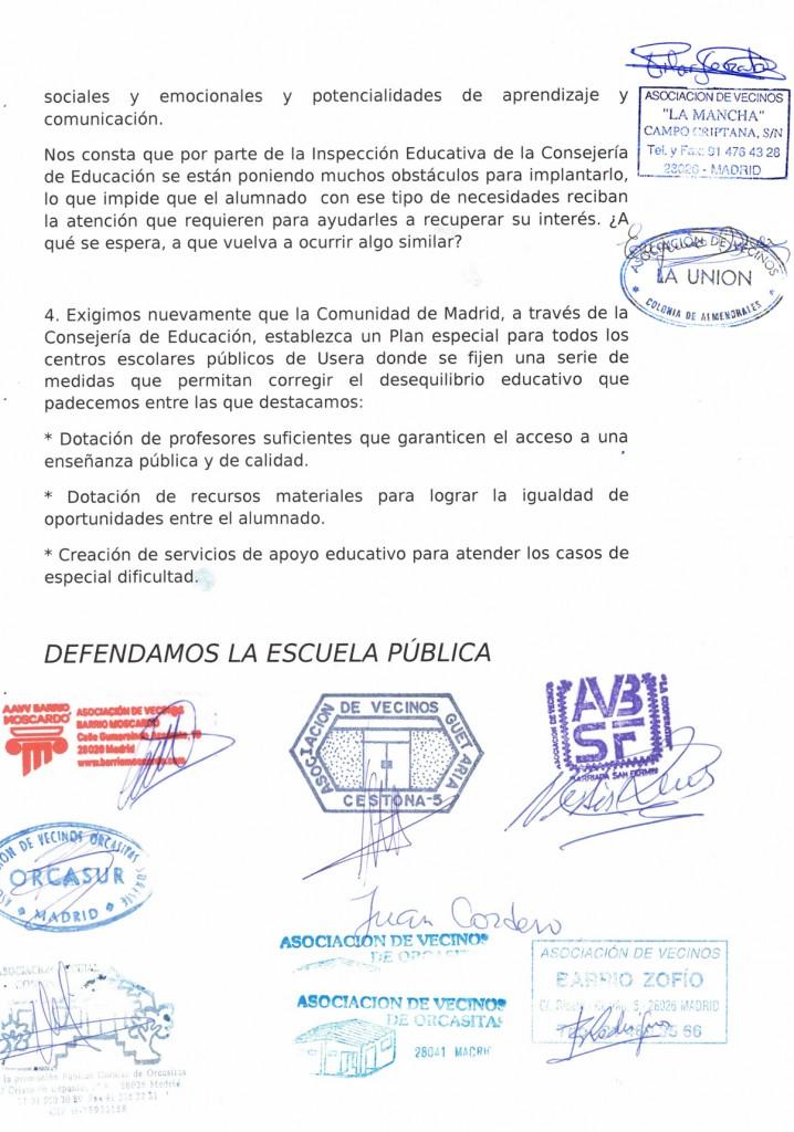 Carta de asociaciones en solidaridad con IES Ciudad de Jaen 2 de 2