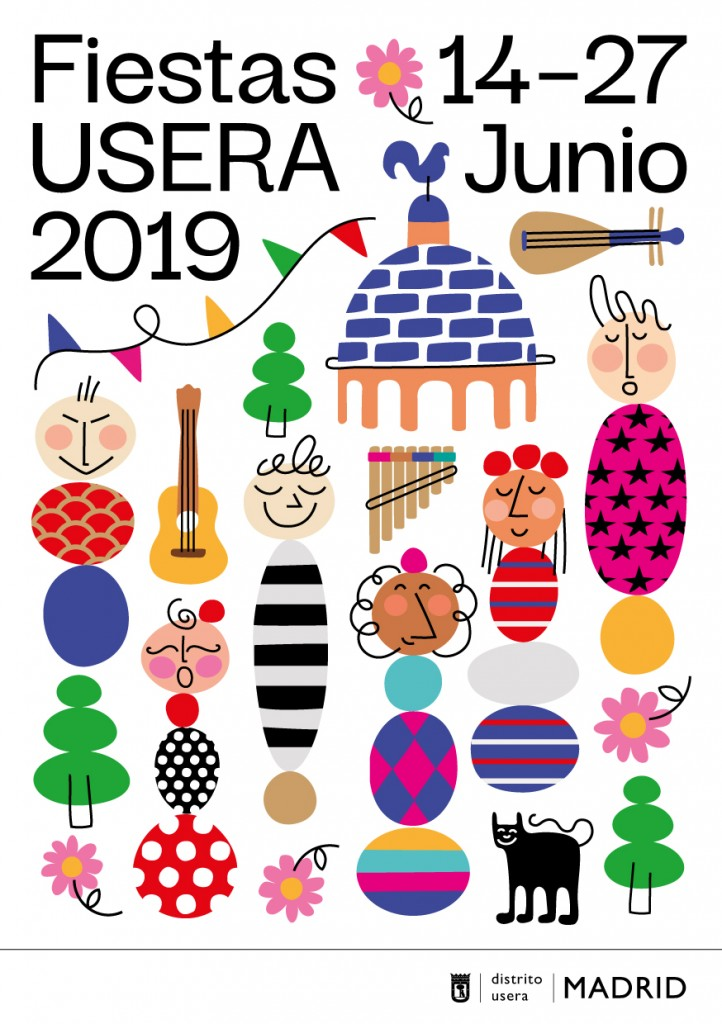 Portada Folleto Fiestas Usera 2019 copia