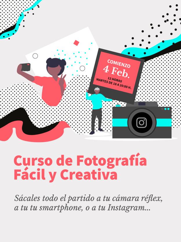 Curso de Fotografía Fácil y Creativa en Usera